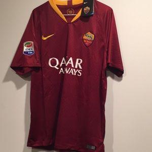AS Roma Soccer Fan Jersey Italy